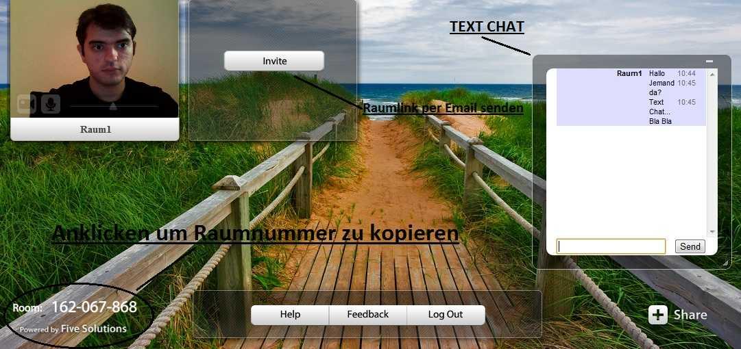 Screenshot Howto meetingl